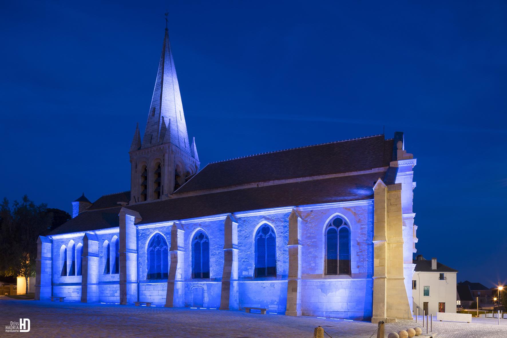 Iglesia de Sacelles lateral