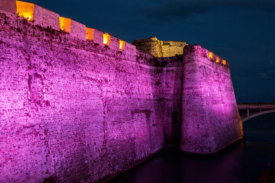 Murailles Royales de Ceuta rose