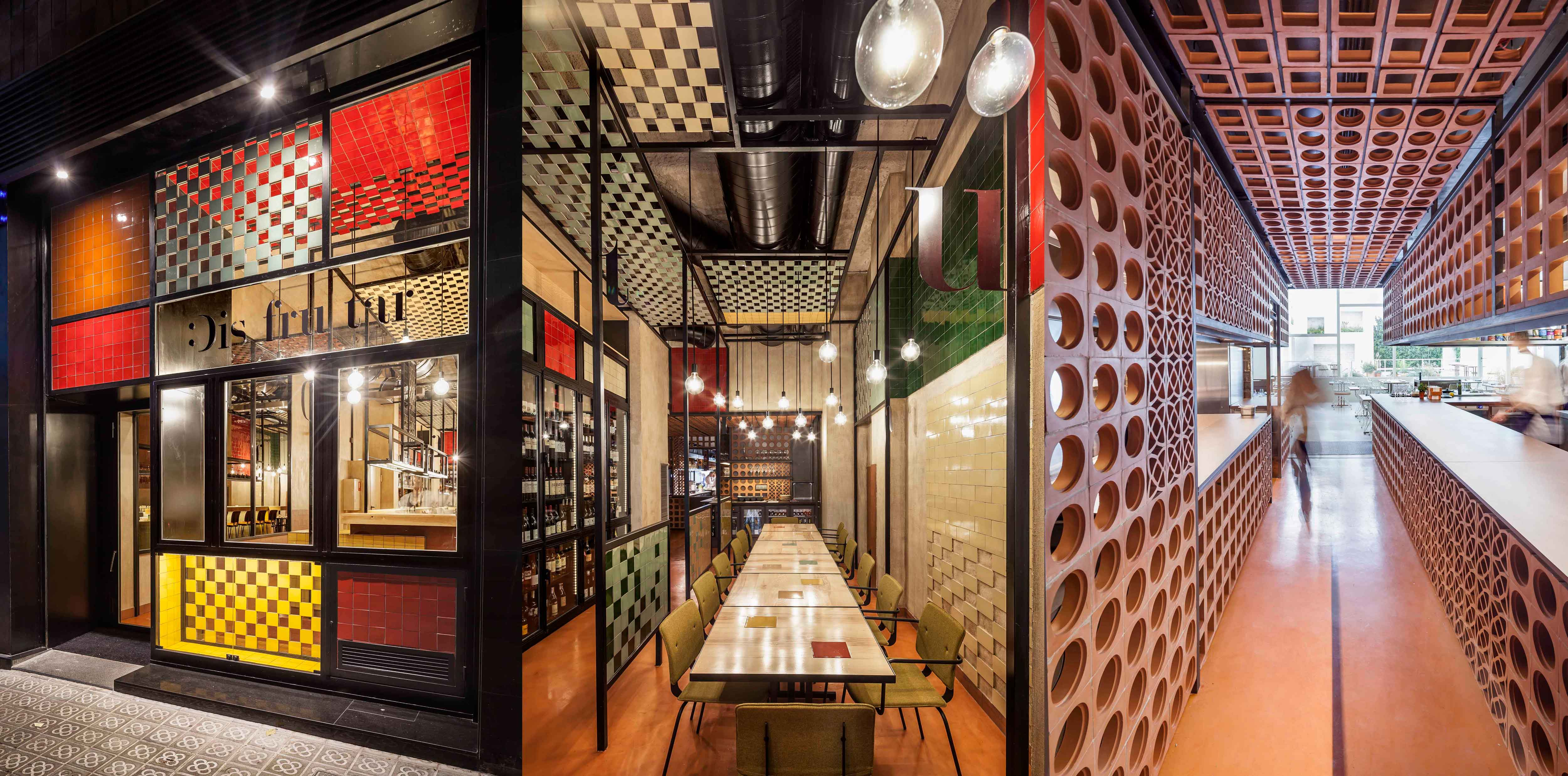 Restaurant Disfrutar - Barcelone