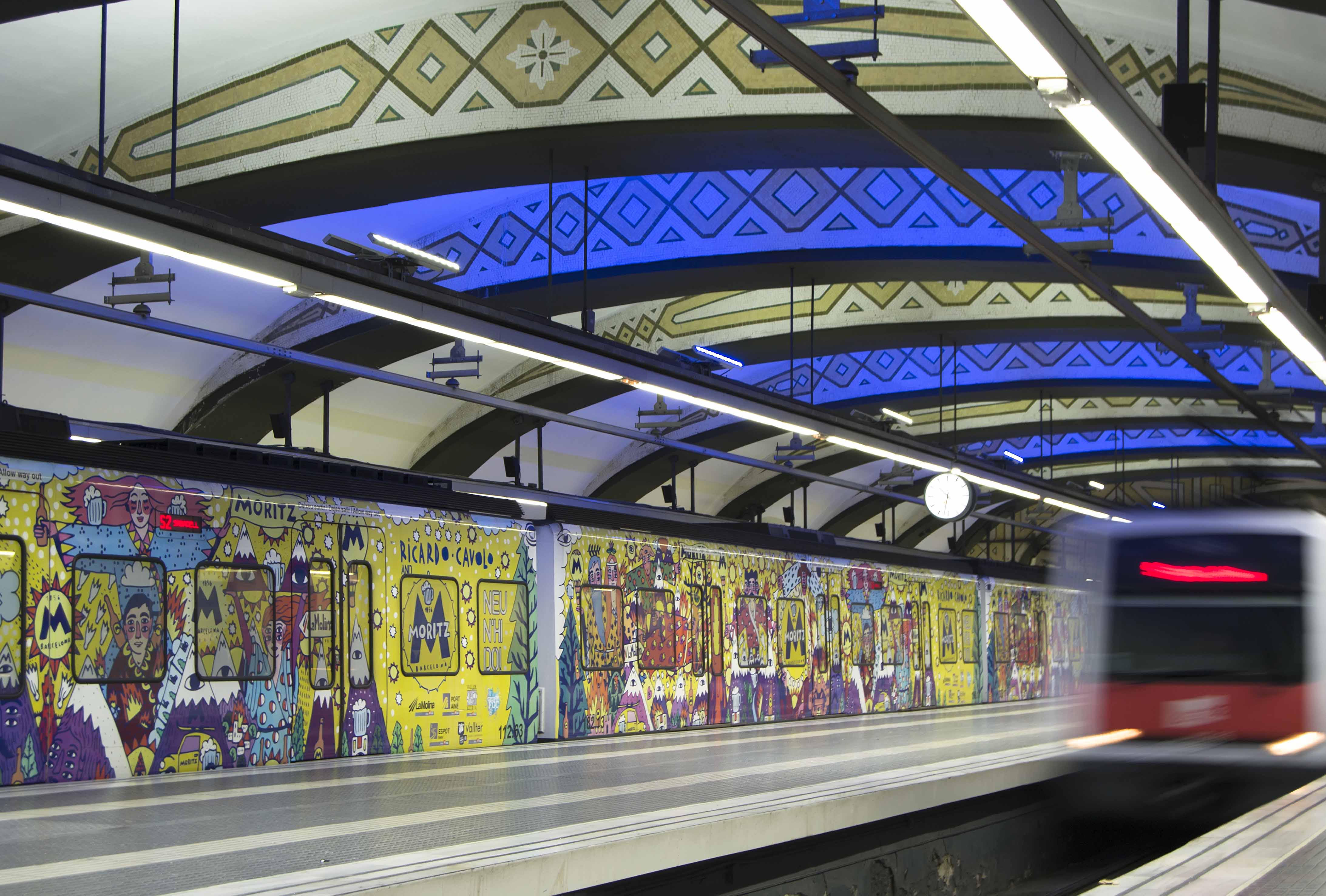 Metro FGC Plaça Catalunya Barcelona