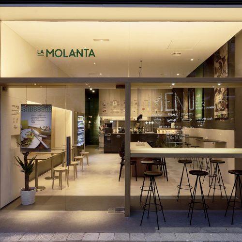 Fachada La Molanta Barcelona