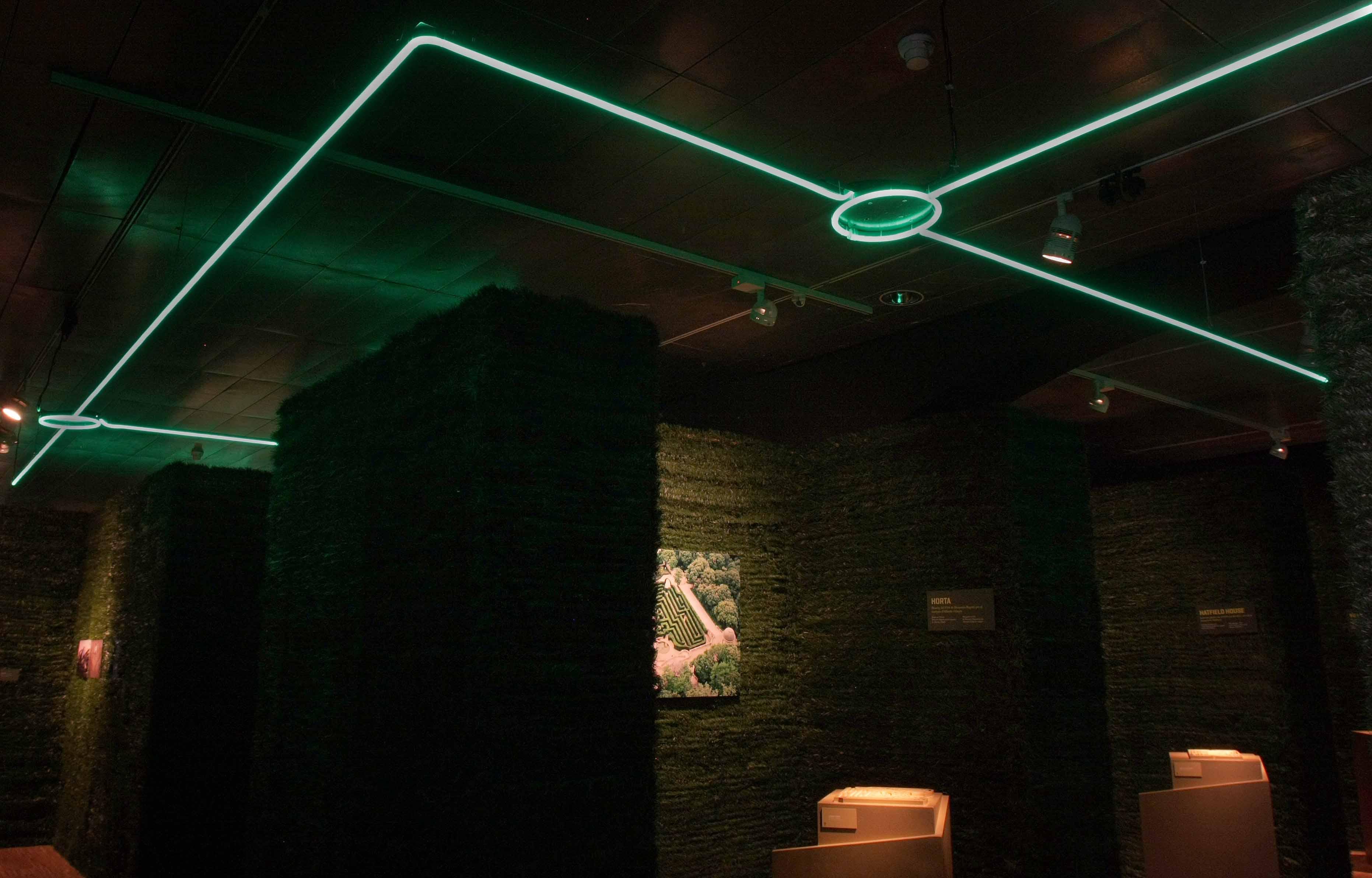 Exposición los laberintos Barcelona luz verde