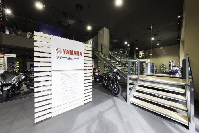 Showroom Yamaha · Madrid