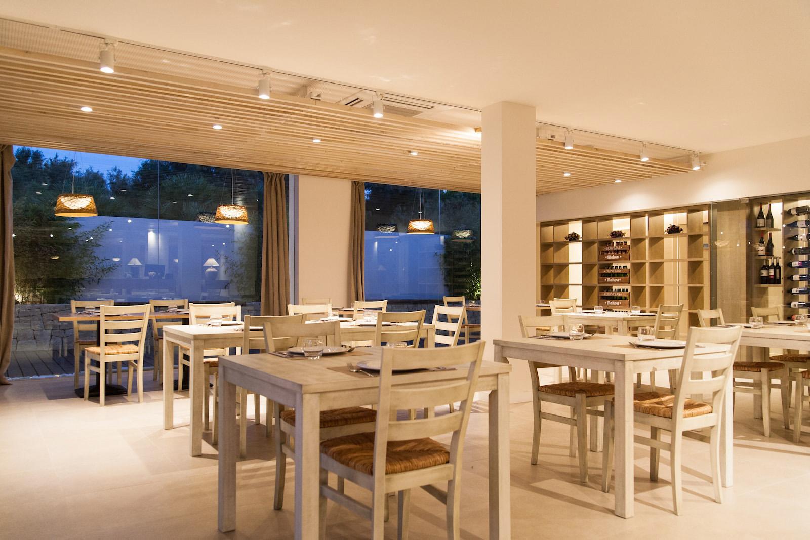 Restaurante la Ferrera comedor Valencia