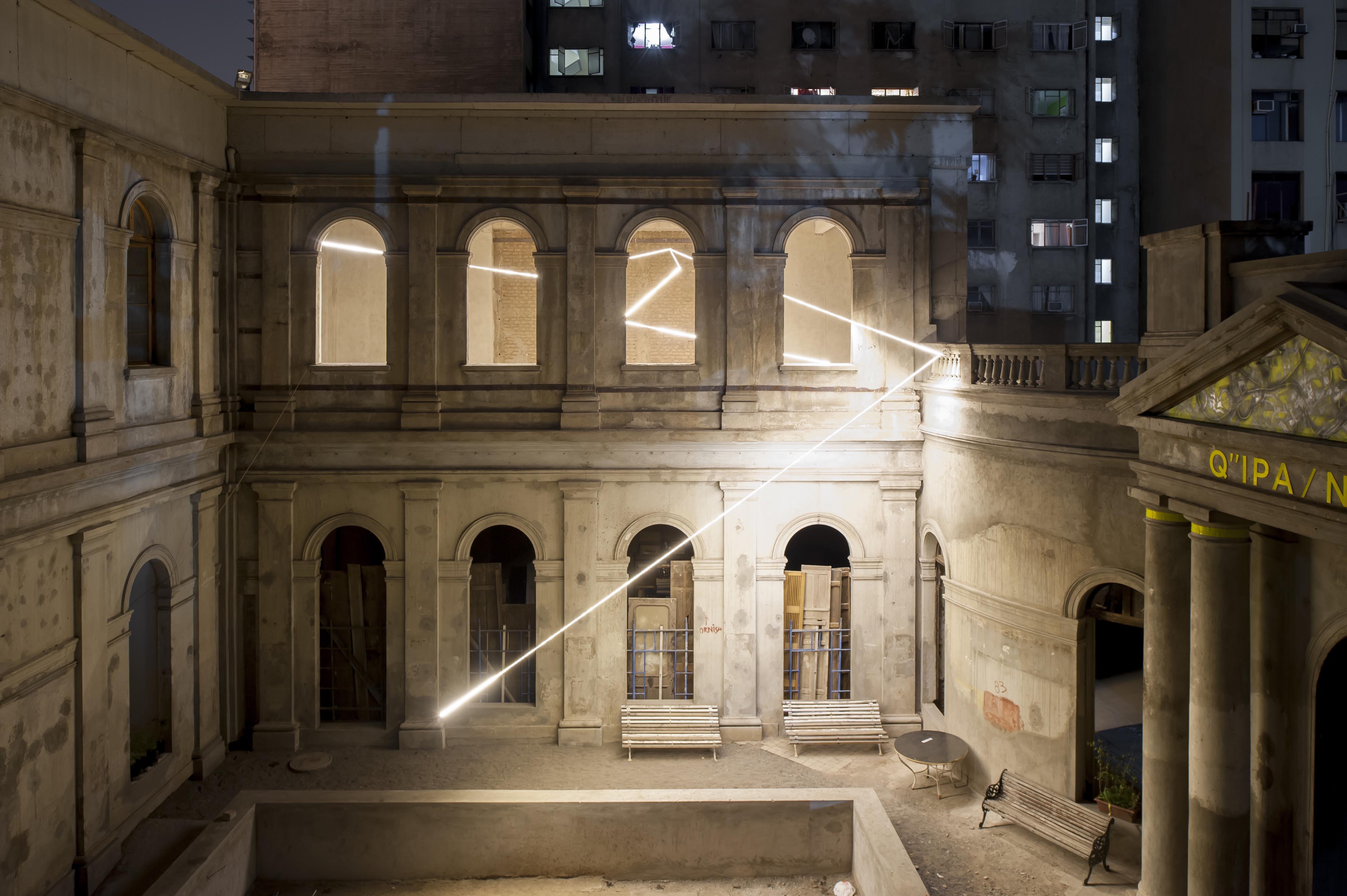 Exterior Exposición Compañía 1263 Santiago de Chile