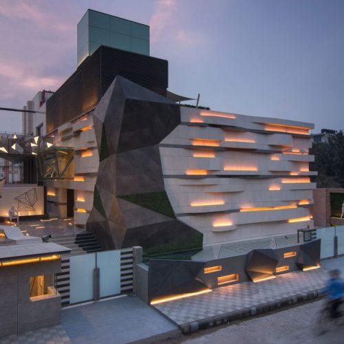 Iluminación showroom Intersekt New Delhi